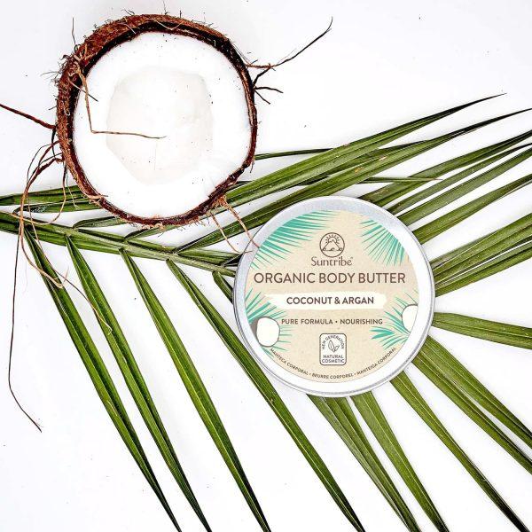Burro corpo naturale al cocco e arango naturale suntribe 150 ml